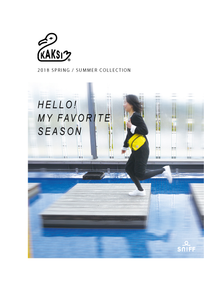 SNIFF KAKSI 2018 spring summer collection catalog